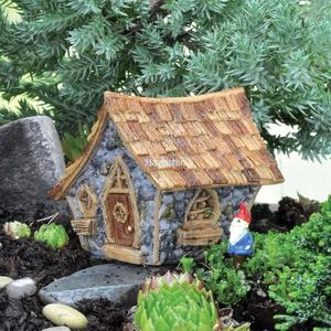 Billede af Micro-Mini Shingletown wooden house / Micro-Mini Shingletown hus fra Fiddlehead Fairy Garden