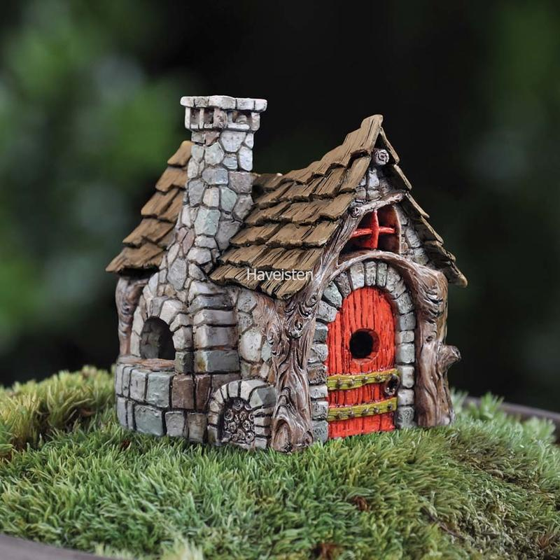 Billede af Micro-Mini bakers cottage / Micro-Mini bagerhytte fra Fiddlehead Fairy Garden