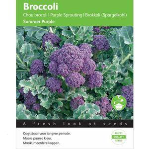 Broccoli, Summer Purple, frø