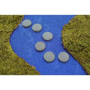 Mini stepping stones, 6 pc. set