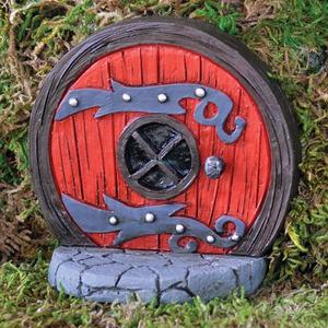 Red Fairy door / Rød fe-/alfedør