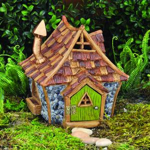Shingletown Cottage fairy House / Fehus i hyttestil